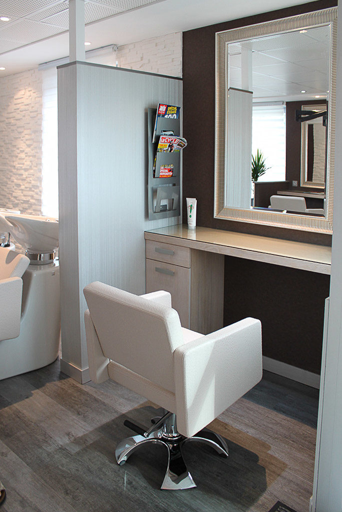 Création d\'un salon de coiffure - Architecte d\'intérieur Quimper